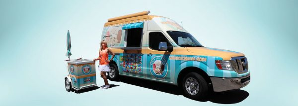 Scottsdale AZ ice cream catering truck menu