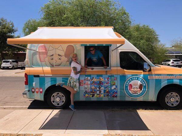 Scottsdale AZ ice cream truck catering