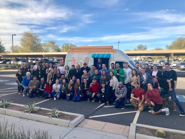 Phoenix ice cream catering truck employee appreciation event